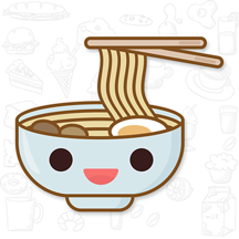 Yummy GIF Sticker for iMessage