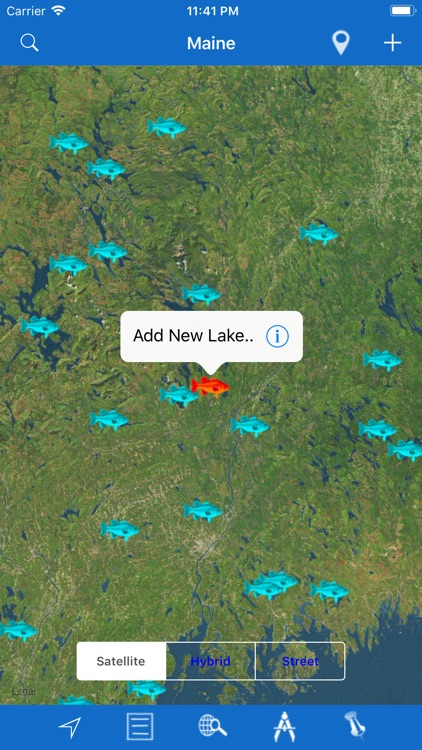 Maine: Lakes and Fishes screenshot-2