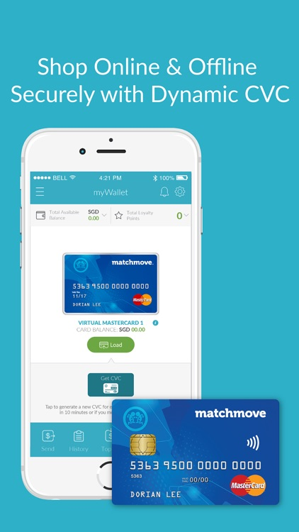 myWallet by MatchMove
