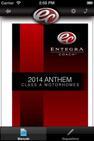 Entegra Coach - náhled