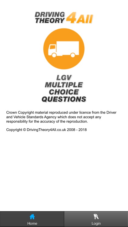 LGV Driving Theory Test 2018