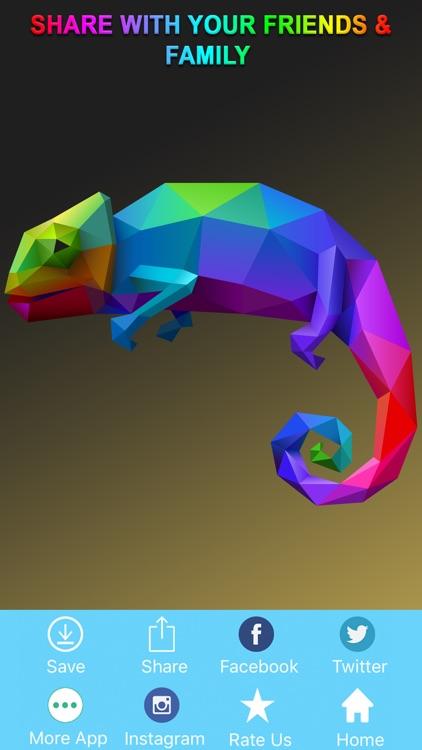 Dot To Dot To Animal Coloring screenshot-3
