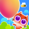 Turner Ethan - Happy Cat - Sky Fly By Balloon artwork