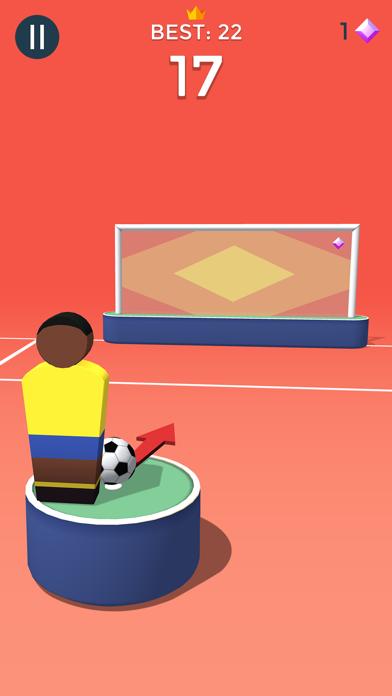 Pop Shot! Soccer screenshot 2