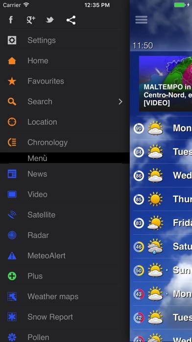 Meteo Plus - by iLMeteo.it Screenshots