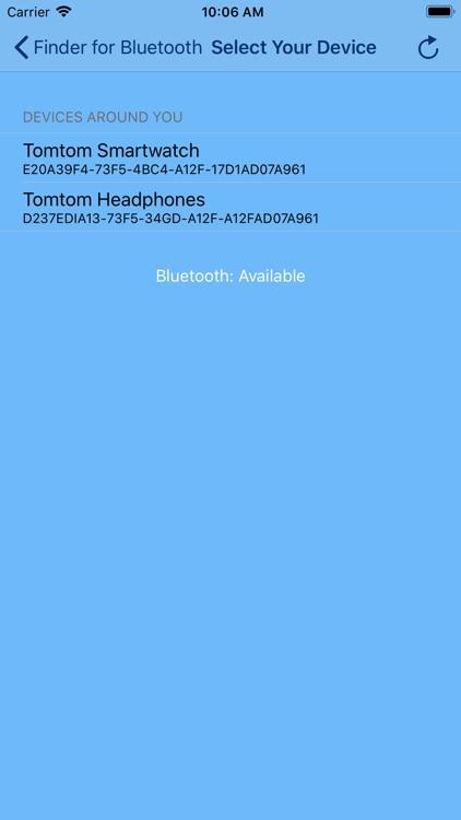 Finder for Bluetooth -ProTrack screenshot-7