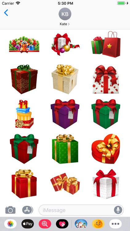 Christmoji - Christmas Sticker screenshot-3
