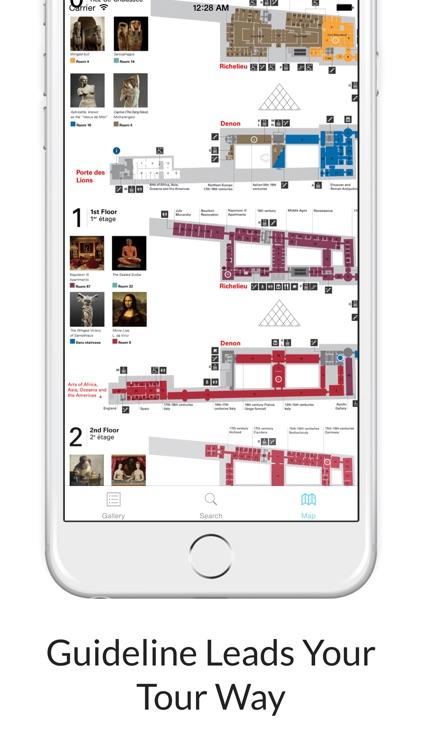 Louvre Museum : Audio Guide screenshot-3