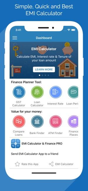 Emi Calculator Loan Planner On The App Store