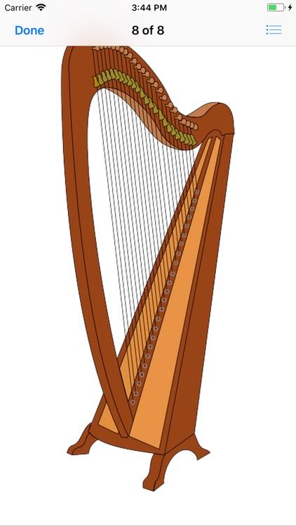 Heavenly Harp Stickers screenshot-8