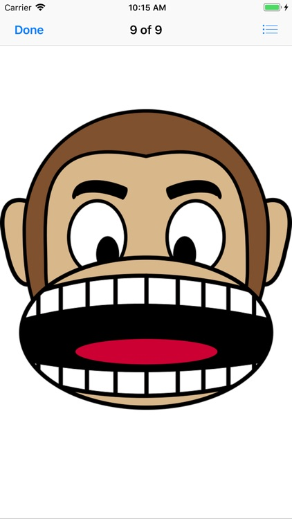Monkey Face Emoji Stickers screenshot-9