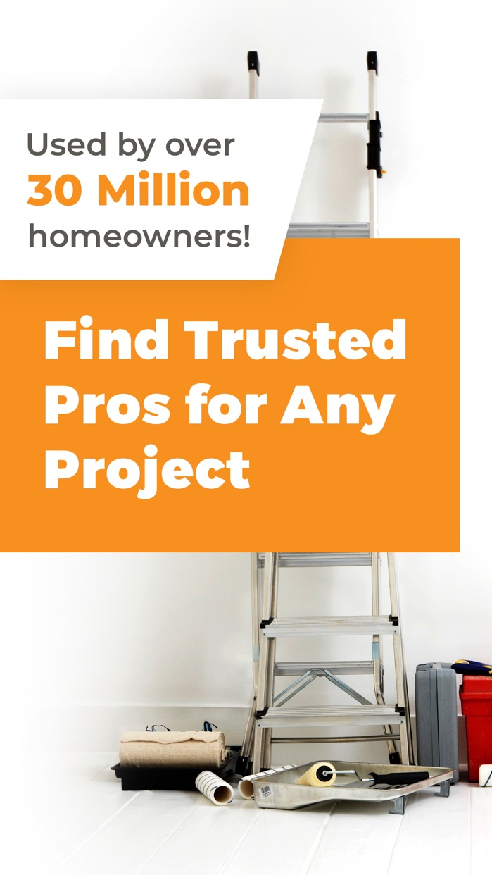 HomeAdvisor: Find a Contractor Screenshot