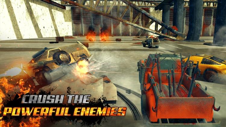 Crushed Cars 3D - Twisted Race screenshot-3