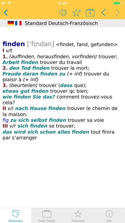 Big German French Dictionary