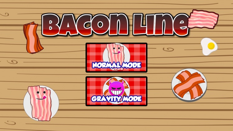 Bacon Line - Fill in Glass