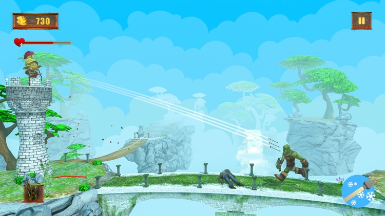 Tiny Castle Defense Archer screenshot-3