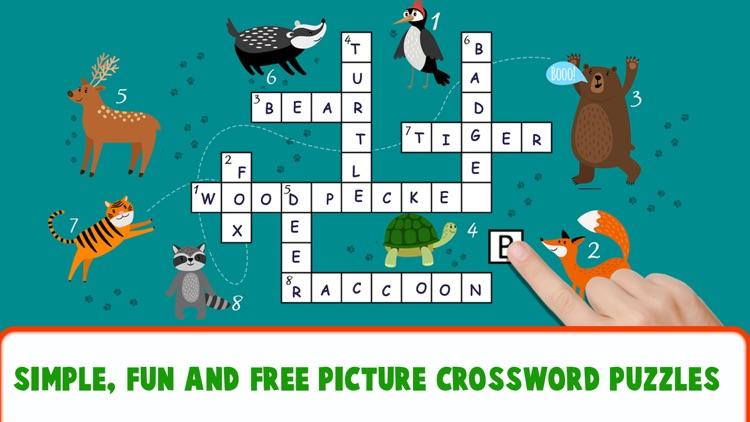Educational Crossword For Kids screenshot-7