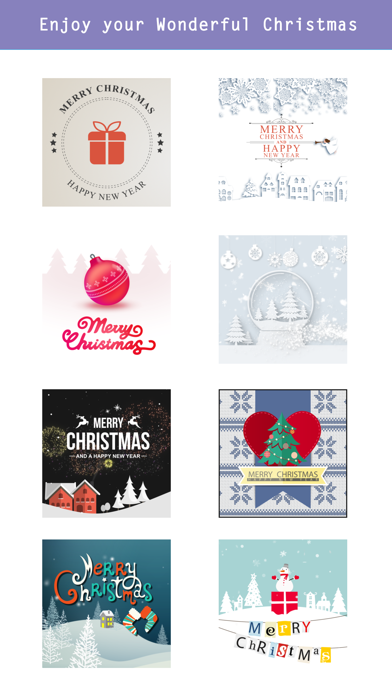 Animated Christmas Stickers - screenshot four