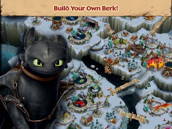 Dragons: Rise of Berk на iPad