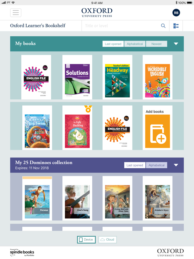 Oxford Learners Bookshelf On The App Store
