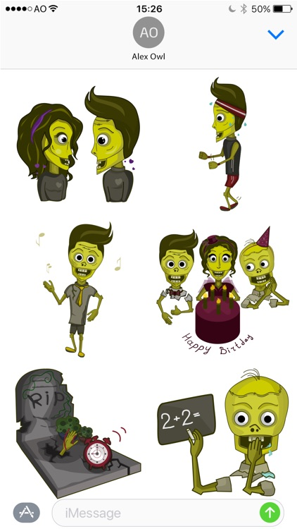 NiceZombies: Animated Stickers screenshot-4