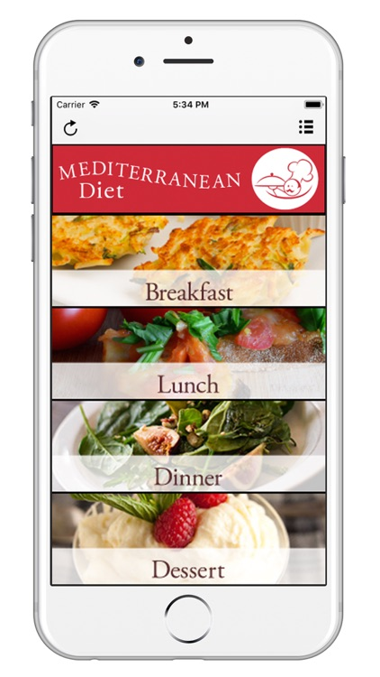 Mediterranean Diet App screenshot-0