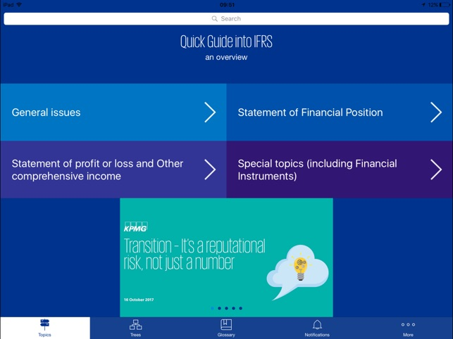 Quick Guide into IFRS in de App Store