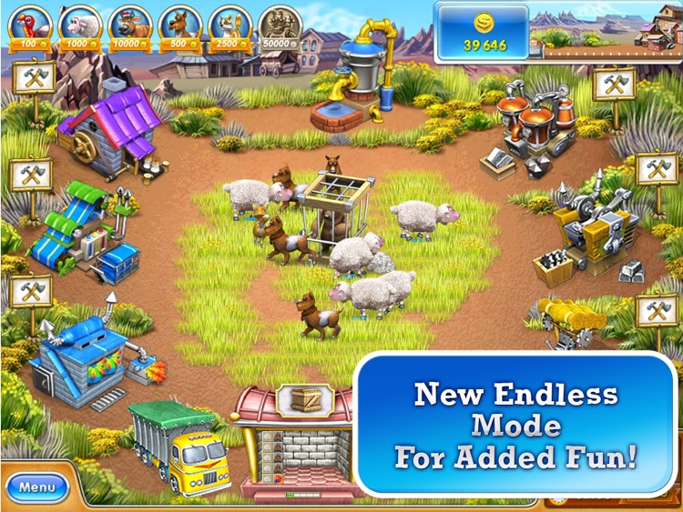 Farm Frenzy 3 American Pie HD screenshot-4