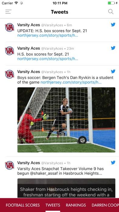 Varsity Aces Screenshot on iOS