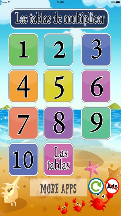 Las tablas de multiplicar lite screenshot-0