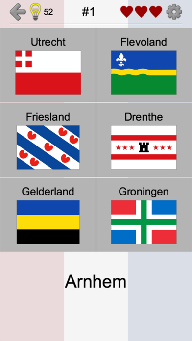 Provinces of the Netherlands screenshot two