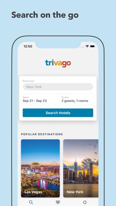 Trivago review screenshots