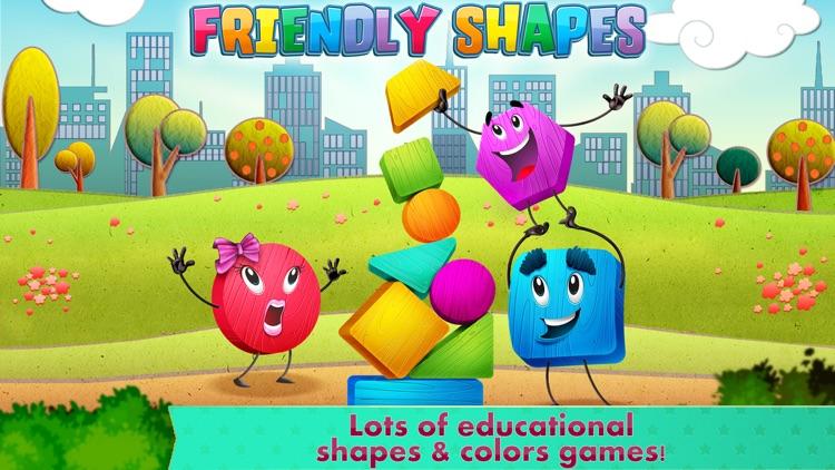 Friendly Shapes Storybook