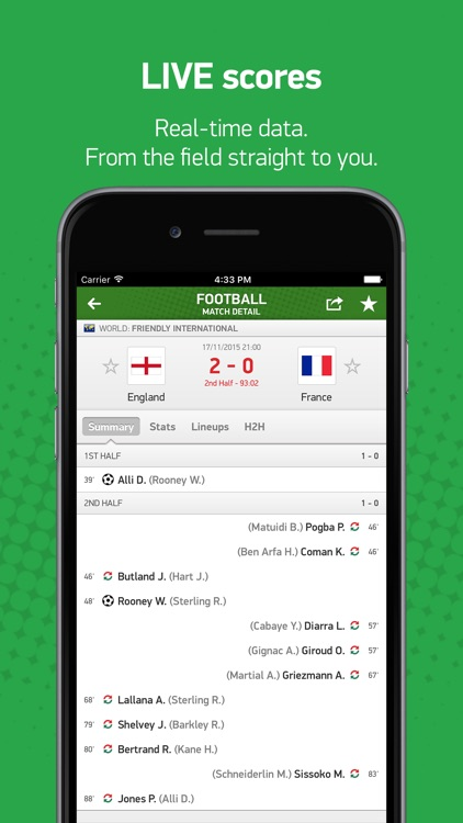 FlashScores.co.uk screenshot-0