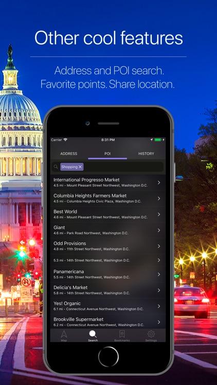 Washington DC Navigation screenshot-4