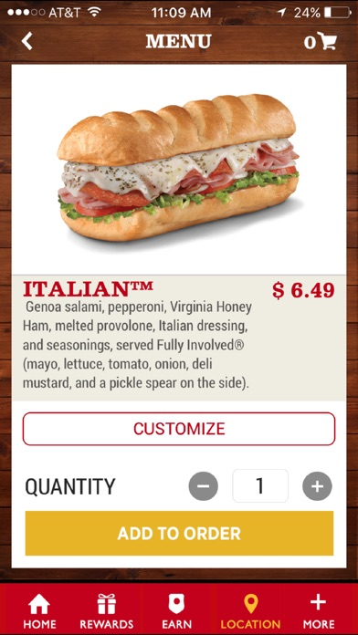 Firehouse Subs App for Windows
