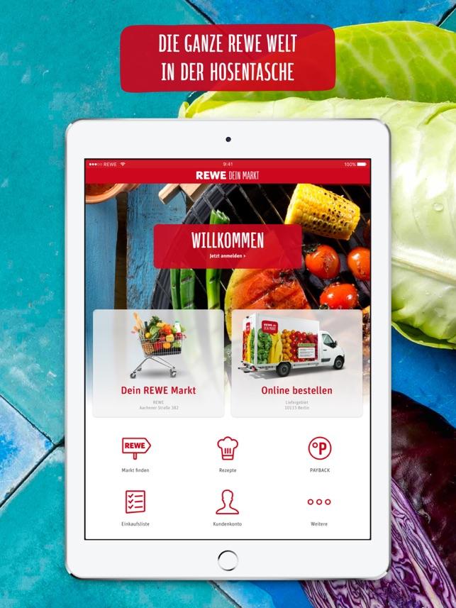 Rewe Angebote Lieferservice Im App Store