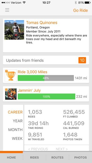 Ride with GPS - Bike Computer app image