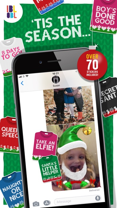 Christmas Jumpers for iMessage screenshot 1