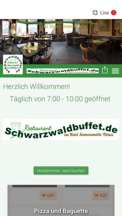 Schwarzwaldbuffet.de screenshot 1
