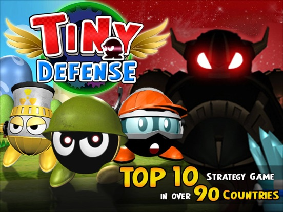 Tiny Defense на iPad