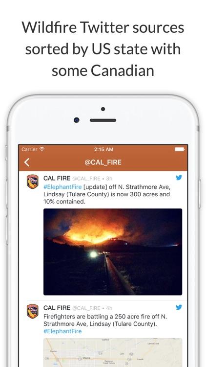 Wildfire Info screenshot-4