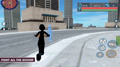 Grand Stickman: Missions Gangt screenshot one