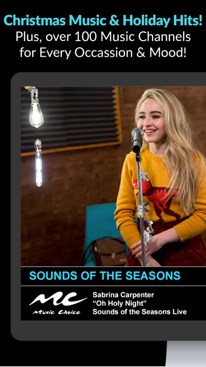 Music Choice - Christmas Radio screenshot-0