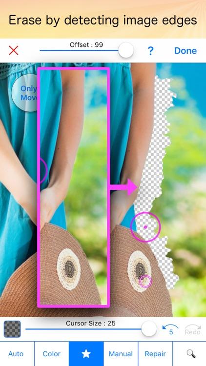 Background Eraser 〜 Stickers !