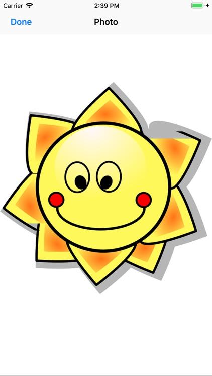 Sunny Sun Stickers