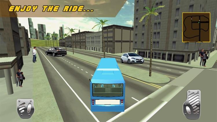 Bus Driver 3D Army Simulator screenshot-3