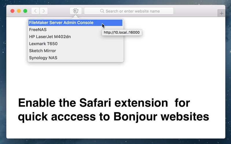 Zeroconf Browser