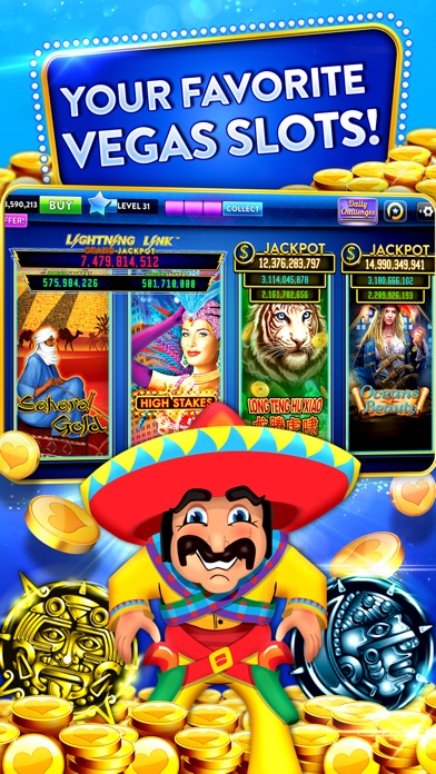 Heart of Vegas – Slots Casino Screenshot