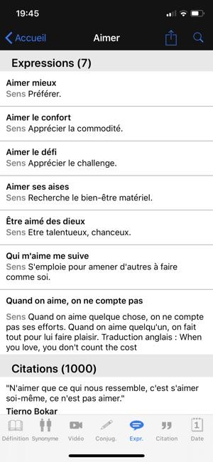 Dictionnaire Linternaute on the App Store